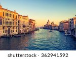 Canal Grande Sunset Of...