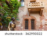 Juliet Staue And Balcony By...