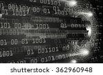 dark black light abstract... | Shutterstock . vector #362960948