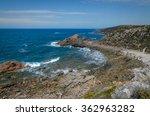 scenic australian rocky bay...