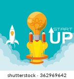 start up design  | Shutterstock .eps vector #362969642