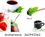 isolated leather mate cup with... | Shutterstock . vector #362992562