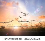 transforming and forgiveness... | Shutterstock . vector #363005126