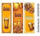 beer banner vertical | Shutterstock . vector #363048428