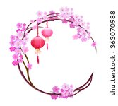 Background With Cherry Blossoms ...