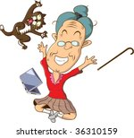 obviously  grandma saw... | Shutterstock . vector #36310159