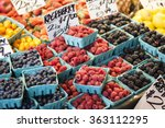 Various Berries From A Local...