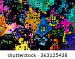 Colourful Crazy Abstract...