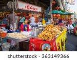 yaowarat  bangkok  thailand  10 ... | Shutterstock . vector #363149366