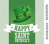 saint patricks day design  | Shutterstock .eps vector #363182456