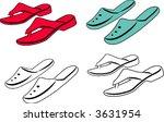 women's  shoe s 2.   Shutterstock .eps vector #3631954