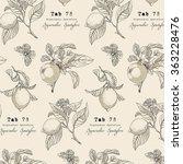vector pattern in vintage style.... | Shutterstock .eps vector #363228476
