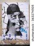 paris  france  24 dec 2015 ...   Shutterstock . vector #363274505