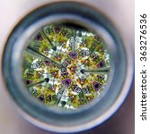 Vew Of Kaleidoscope Cylinder...