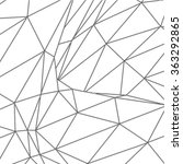 black polygonal structure | Shutterstock .eps vector #363292865