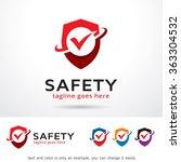 safety logo template design... | Shutterstock .eps vector #363304532