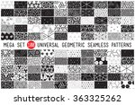 100 universal different...   Shutterstock .eps vector #363325262