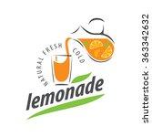 logo for lemonade | Shutterstock .eps vector #363342632