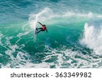 ericeira  portugal   january 12 ... | Shutterstock . vector #363349982