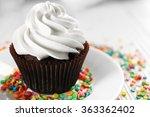 Delicious Chocolate Cupcake...