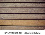 Wooden Beach Boardwalk With...