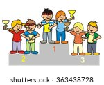 winning team vector icon | Shutterstock .eps vector #363438728