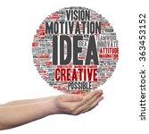 concept or conceptual abstract... | Shutterstock . vector #363453152