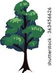 vector tree | Shutterstock .eps vector #363456626