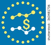financial trends vector icon.... | Shutterstock .eps vector #363481736