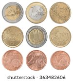 Collection Set Of Euro Coins...
