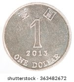 One Hong Kong Dollar Coin...