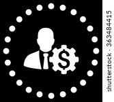 banker options vector icon....   Shutterstock .eps vector #363484415