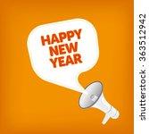 happy new year | Shutterstock .eps vector #363512942