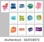 a scalable vector calendar for... | Shutterstock .eps vector #363518072
