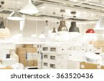 blur lighting department store... | Shutterstock . vector #363520436