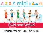 Marathon Concept. Basic Icons...
