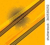 tire tracks vector | Shutterstock .eps vector #363530252