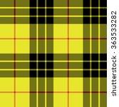 macleod tartan kilt fabric...   Shutterstock .eps vector #363533282
