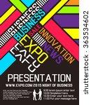 expo flyer poster   Shutterstock .eps vector #363534602