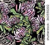seamless flower background....   Shutterstock .eps vector #363550202