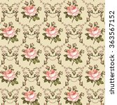 seamless classic pattern.... | Shutterstock .eps vector #363567152