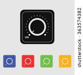 vector switch. switch icon. on... | Shutterstock .eps vector #363574382