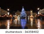 Xmas Tree In The Ostrava City...
