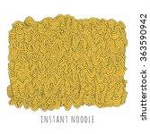 vector instant noodle block.... | Shutterstock .eps vector #363590942