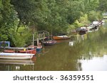 scene in friedrichstadt  ... | Shutterstock . vector #36359551