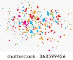 abstract color splash... | Shutterstock .eps vector #363599426