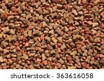 Stock photo dried cat food shaped kitty kibble as an abstract background texture 363616058