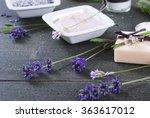 moisturizer cream  soap and... | Shutterstock . vector #363617012