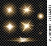 creative concept vector set of... | Shutterstock .eps vector #363622856