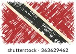 trinidad and tobago grunge flag.... | Shutterstock . vector #363629462